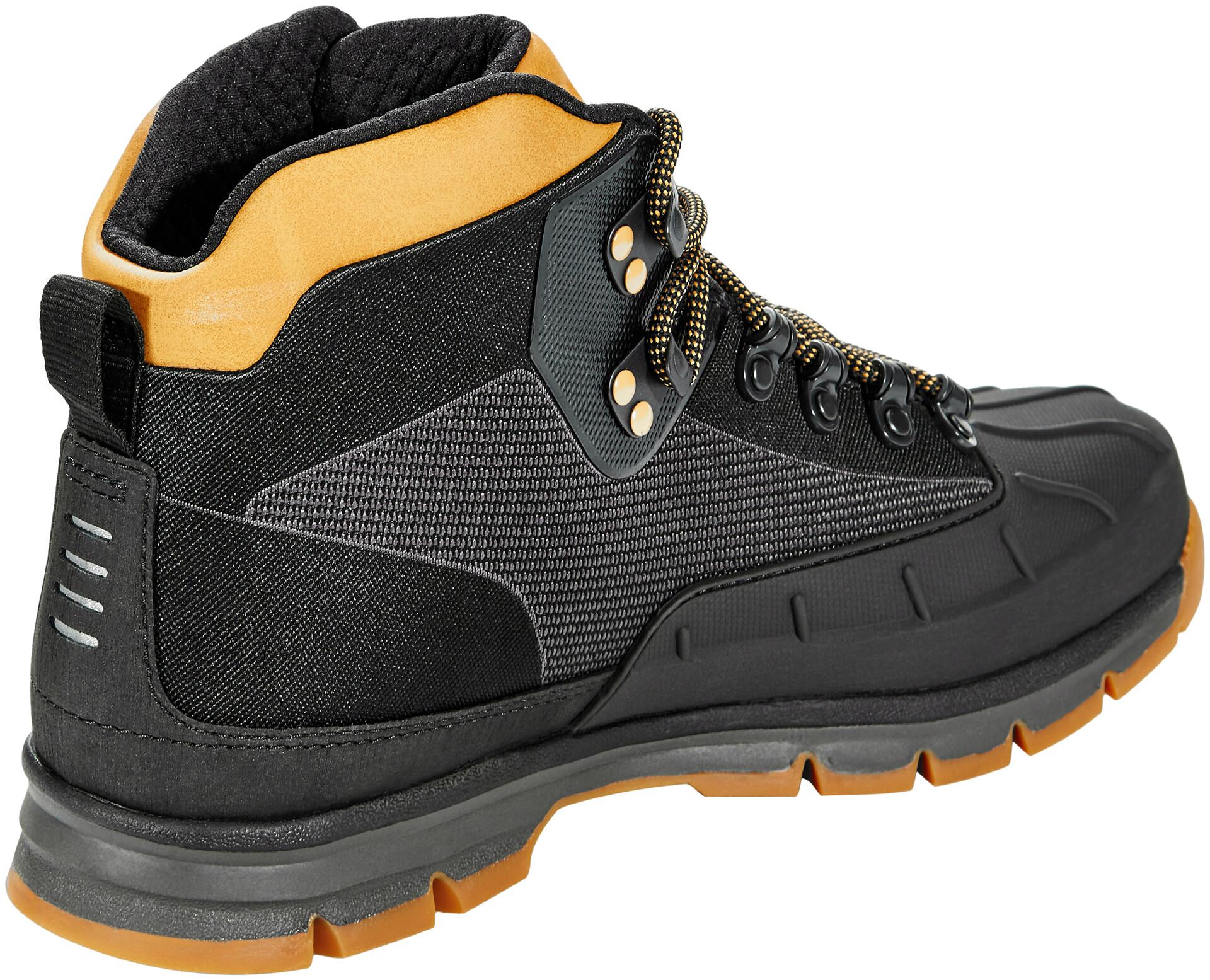Timberland Euro Hiker Shell Toe Chaussures Jacquard Homme, blackwheat